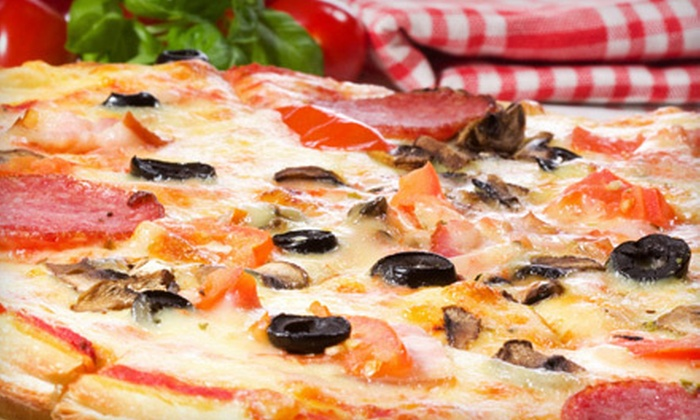 Pizzeria Prego - Lendrum Place: Two or Four Medium Two-Topping Pizzas at Pizzeria Prego (53% Off)