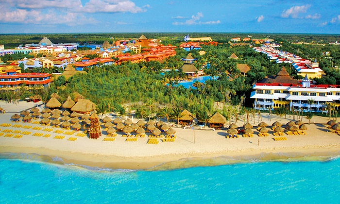 4 6 or 7 night all inclusive iberostar paraiso beach for Winter all inclusive vacations