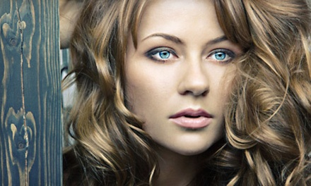 Haircut with Conditioning Treatment, Single-Process Color, or Partial Highlights (Up to 56% Off)