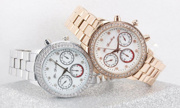 Lush or Mystiq Watches with Crystals from Swarovski®: One ($26) or Two ($49) (Don't Pay up to$261.88)
