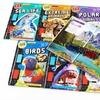 Set of 10 iExplore Children's 3D Books with 3D Glasses