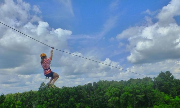 EMPOWER Leadership Sports & Adventure Center - Middletown: Up to 46% Off Zip Lining  at EMPOWER Leadership Sports & Adventure Center