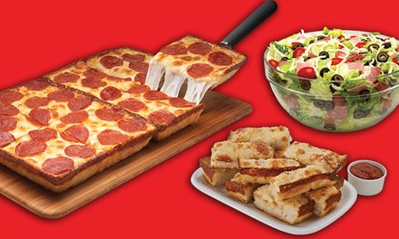 $17.25 for a Dine-In Pizza Meal at Jet's Pizza ($27.63 Value)