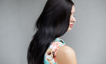 Haircut, BlowDry, and Style or Keratin Treatment at Elite Salon & Day Spa (Up to 51% Off)