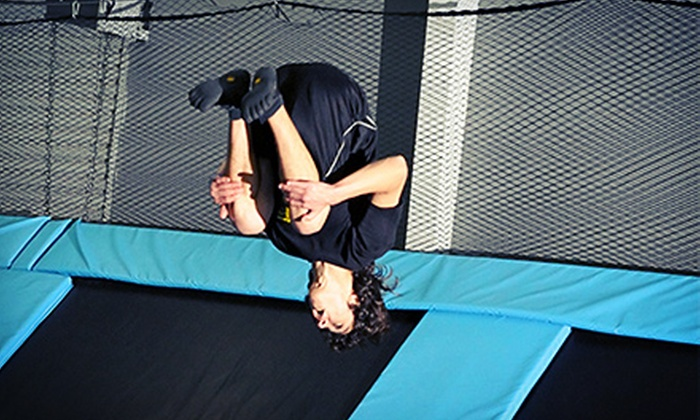 Jump Highway - Fairfield: Two Hours of Jump Time or a Two-Hour Birthday-Party Package for Up to 10 at Jump Highway (Up to Half Off)