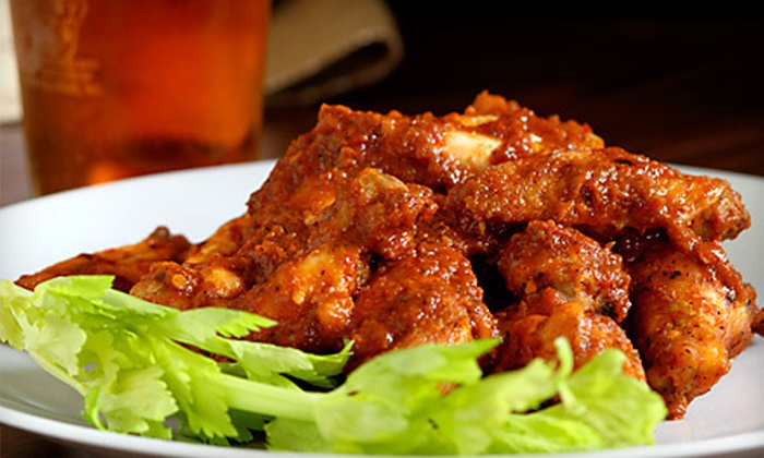 Buffalo Wings & Pizza - Sunkist Park: $12 Worth of Pizzas, Wings, and Draft Beer