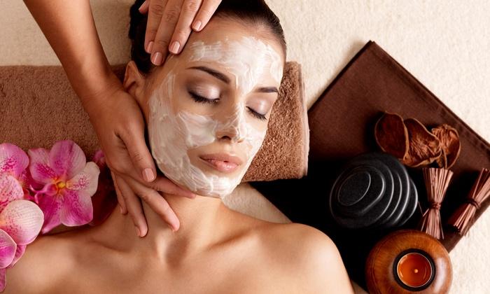 Sanctuarium - Brampton: 24-Karat Gold or Hungarian Mud Facial with Optional Manicure at Sanctuarium (Up to 55% Off)