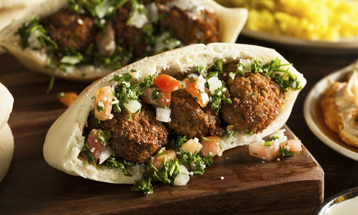 Falafel King - Minneapolis: $20 Worth of Food and Drink Valid for Two People or Take Out at Falafel King (Up to 40% Off)