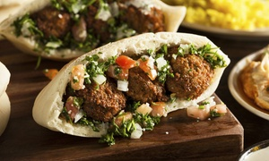 Falafels N' More: Mediterranean Food at Falafels N' More (Up to 37% Off). Two Options Available.