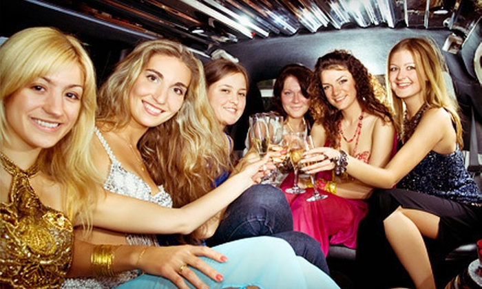 VIP Party Network - Lincoln: Party-Limo Package for One, Two, or Four from VIP Party Network (Up to 60% Off)