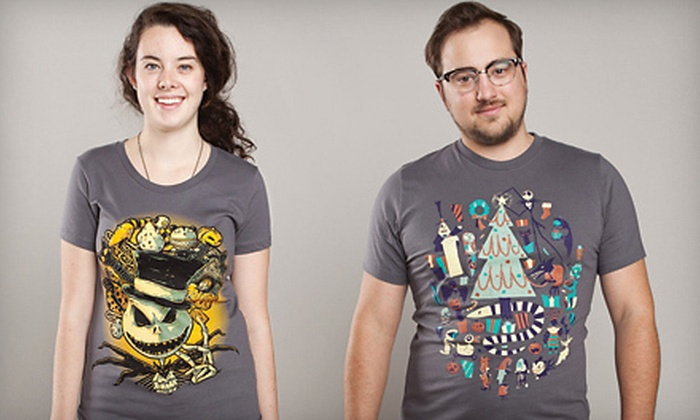 Threadless: Artistic Tees and Hoodies from Threadless (Up to 53% Off). Two Options Available.