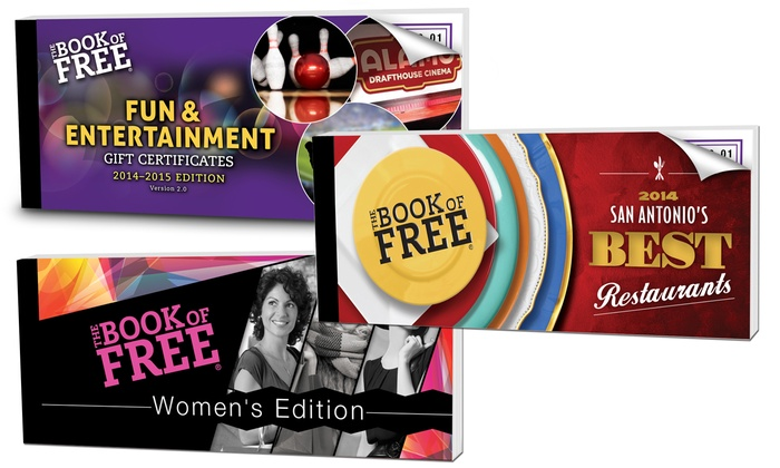 Book of Free: Book of Free Fun & Entertainment, Best Restaurants, & Women's Edition (Up to 77% Off). Choose From Two Options.