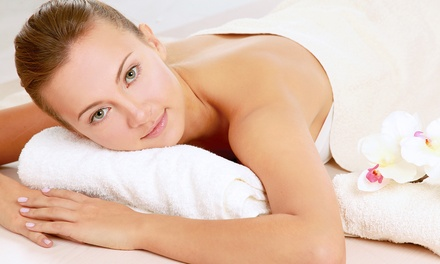 $59 for a Massage, Aromatherapy, and Facial or Leg Treatment at TMT Spa ($150 Value)