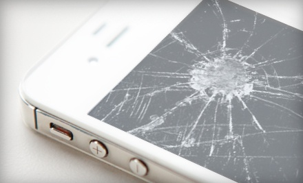 Screen Repair for iPhone 4 or 4S, or $20 for $40 Worth of Cellphone Accessories at Mobilicity
