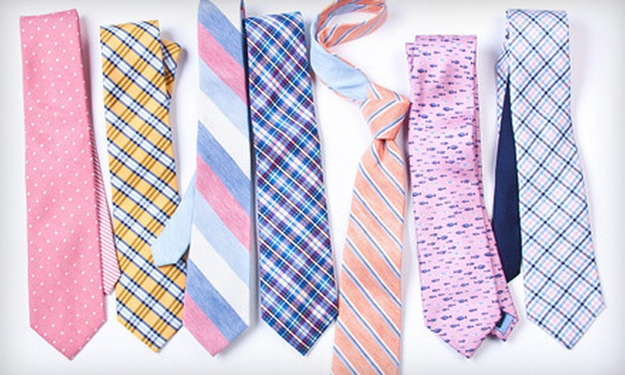 Ties.com: Men's Ties and Accessories from Ties.com (Half Off). Two Options Available.