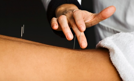 An Acupuncture Treatment and an Initial Consultation at Thrive Acupuncture and Wellness (45% Off)