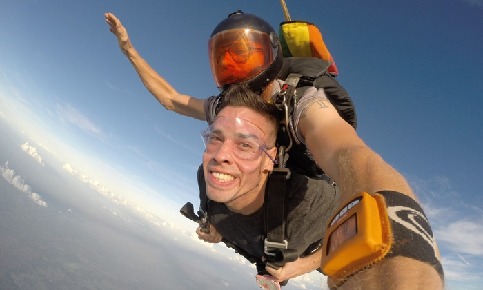 Skydive City/Z-Hills - Zephyrhills: Tandem Skydive for One or Two or Premium Champagne Package for One or Two (Up to 37% Off)