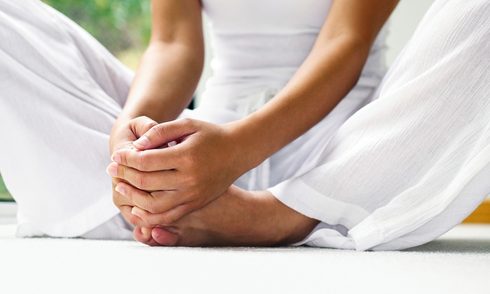 Stretchyouyoga LLC - Phoenix: $59 for an On-Location Vinyasa and Vino or Buddha Bliss Yoga Party from Stretchyouyoga LLC ($120 Value)