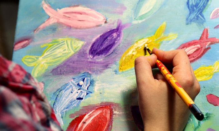 Paintings Made by Me - Ann Arbor: Paint Class for Two or Four at Paintings Made By Me (Up to 54% Off)