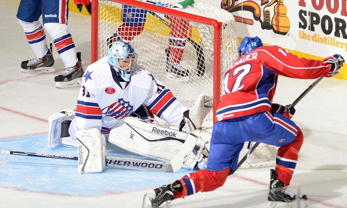 Rochester Americans - Blue Cross Arena: $15 for Premium 100-Level Seats at a Rochester Amerks Home Game on December 13, 17, 20 or 31 ($30.65 Value)