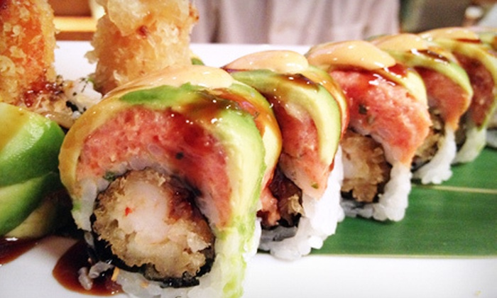 Bambou Asian Tapas & Bar - Glenville: $25 for $50 Worth of Sushi, Asian Fusion Cuisine, and Drinks at Bambou Asian Tapas & Bar
