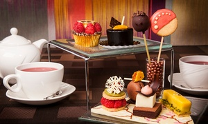 5* London Hilton on Park Lane: Chocolate Afternoon Tea for Two with an Optional Glass of Champagne at 5* London Hilton on Park Lane (Up to 46% Off)