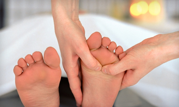 Crystal Foot Spa - Preston Valley Villas: One or Three Groupons, Each Good for a 70-Minute Foot-and-Back Combination Massage at Crystal Foot Spa (Half Off)