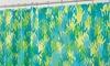 """72""""x72"""" Handz Peva Shower Curtain: 72""""x72"""" Handz PEVA Shower Curtain"""