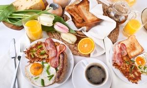 Petit-déjeuner français ou américain pour 2 ou 4