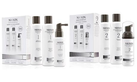 Kits sistemas de 3 fases Nioxin