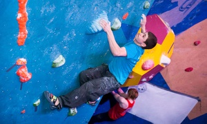 The Climbing Academy Glasgow: Indoor Climbing Induction, Shoe Hire and Return Visit from £10 at The Climbing Academy Glasgow (Up to 72% Off)