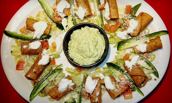 Casa Don Diego - Castle Park: $10 for $20 Worth of Mexican Food and Drinks at Casa Don Diego