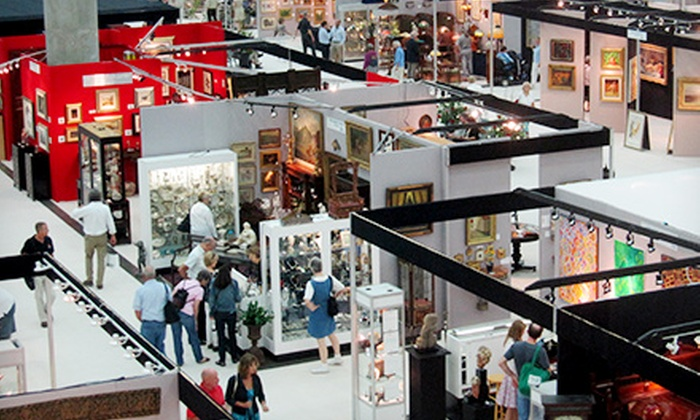 Baltimore Summer Antiques Show - Inner Harbor: Admission for Two or Four to Baltimore Summer Antiques Show (50% Off)