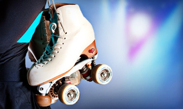 Nampa Rollerdrome - Nampa: Roller-Skating Outing with Skate Rentals for Four or 10 Roller-Skating Sessions at Nampa Rollerdrome (Up to 60% Off)