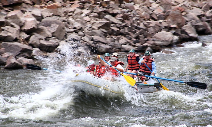 Colorado River Runs - Kremmling-Granby: Half or Full Day of Rafting for Two or Four from Colorado River Runs (Up to 40% Off)