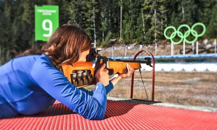 Whistler Sport Legacies - Whistler Olympic Park: C$20 for an Olympic Shooting Range Experience for Two at Whistler Olympic Park C$35 Value)