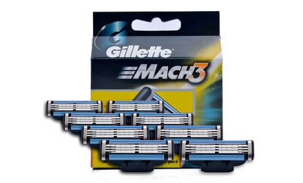 Eight-Pack of Gillette Mach 3 Refill Cartridges