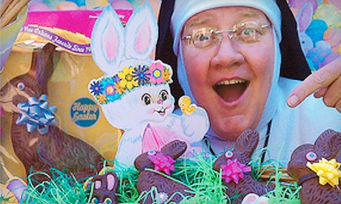 """Sister's Easter Catechism - Downtown: $33 to See """"Sister's Easter Catechism"""" at Wilbur Theatre on March 3 at 3 p.m. (Up to $64.70 Value)"""