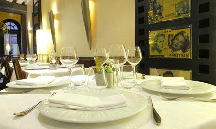 Entrées, plats et desserts pour 2 ou 4 convives dès 69,90 €au restaurant L'Orangerie, 4e