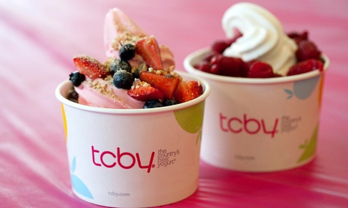 TCBY - TCBY: $12 for 2 Groupons, Each Good for $10 Worth of Frozen Yogurt at TCBY - St. Charles ($20 Total Value)