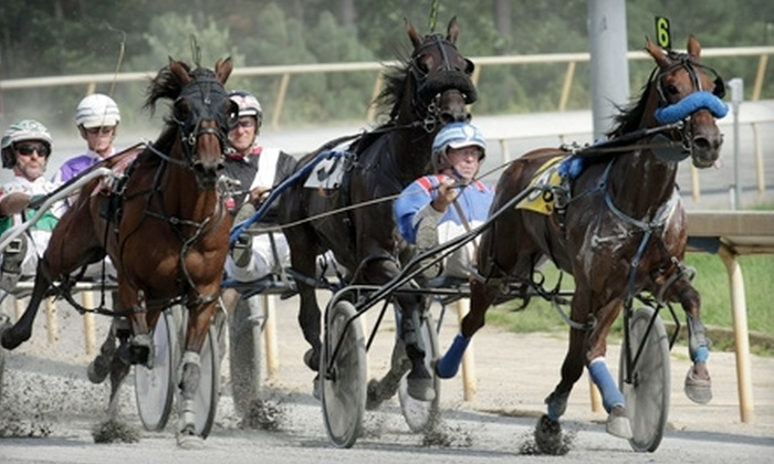 Colonial Downs Racetrack - New Kent: Horseracing Experience for Two or Four Including Tip Sheet, Bet, and Dinner at Colonial Downs Racetrack (Up to 56% Off)
