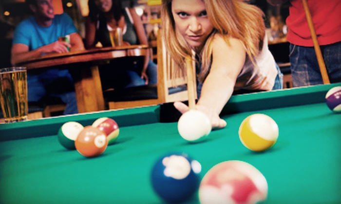 World Sports Grille - Downtown Manchester: $20 for a Billiards Package for Two (Up to a $58.50 Value)