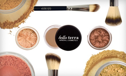 Mineral Cosmetics from Bella Terra Mineral Cosmetics (Up to 67% Off). Three Options Available. Free Shipping.