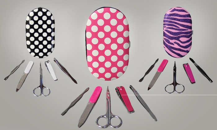 Five-Piece Manicure Set: Five-Piece Manicure Set. Multiple Styles Available. Free Returns.