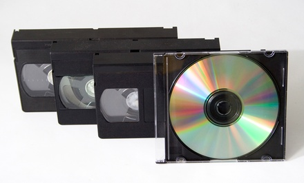 Three or Five Video-to-DVD Transfers, or Five DVD Duplications at Classic Media Productions, Inc. (Up to 55% Off)