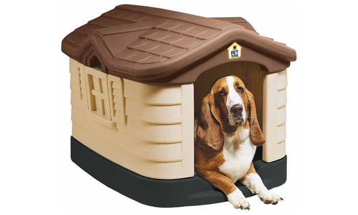 Pet Zone Cozy Cottage Dog House Groupon Goods
