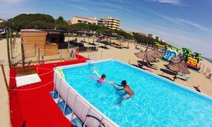 Parc Aquatique Tropical-Jump: Pass de 5h au Parc Tropical Jump avec 2 accès accompagnant à l'espace détente à 24 €