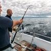 Battuta di pesca con bolentino d'altura