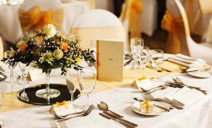 Wedding Package for 50 Daytime and 80 Evening Guests at Mercure Hull Grange Park (36% Off)