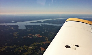 Aero Academy International: Sightseeing Tour, Pilot-for-a-Day Experience, or Both at Aero Academy International (Up to 64% Off)